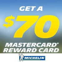 Buy a set of 4 new MICHELIN® DEFENDER® LTX® M/S tire and get $70 in mail-in rebate.