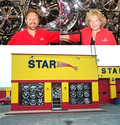 Photo of Andy and Paige from Star Tire and Wheels
