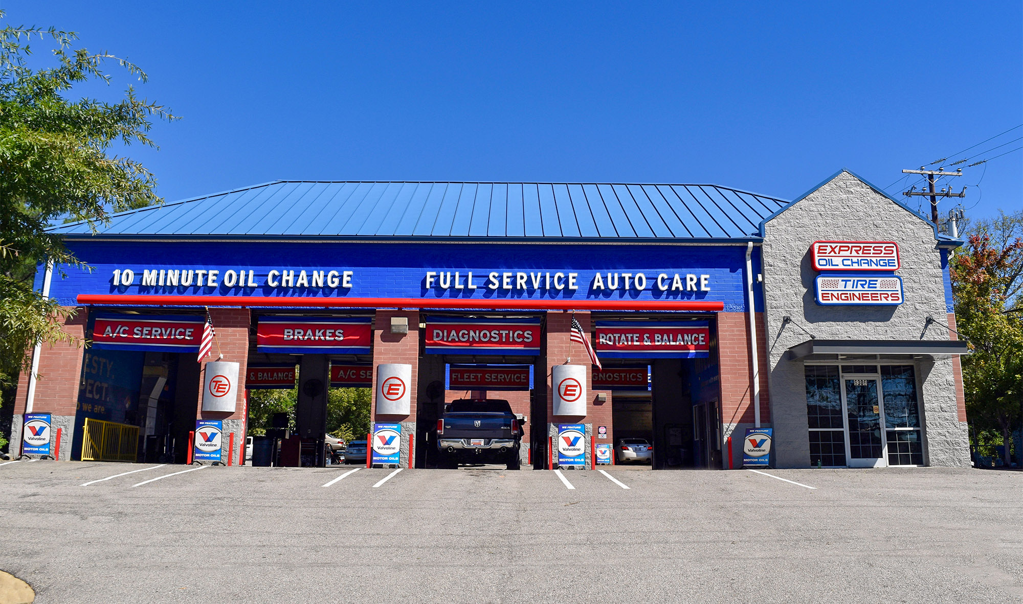 Express Oil Change & Tire Engineers Columbia, SC - Garners Ferry Road store
