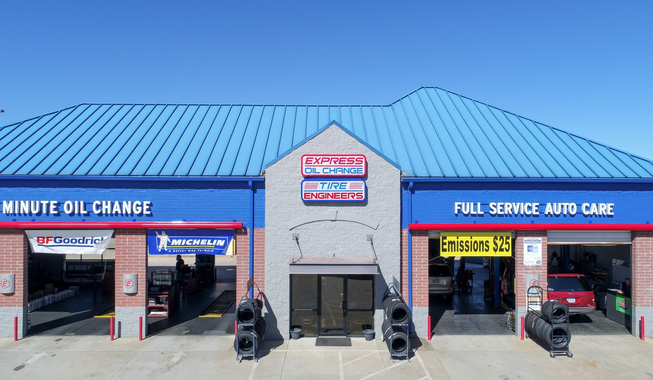Oil Change Tires Auto Repair Mcdonough 30253 Express Michelin Fuel Filters Services In Ga