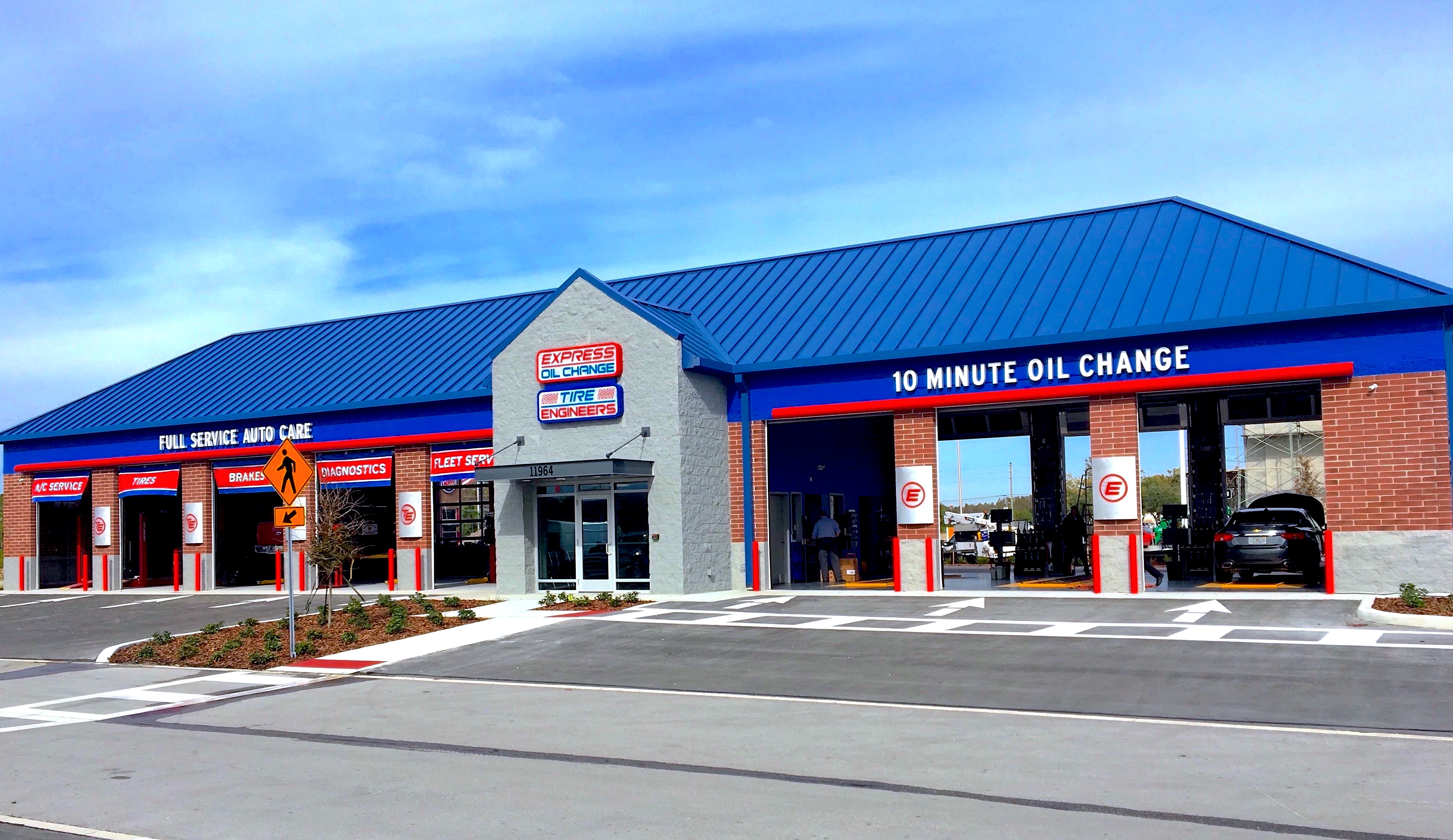 Express Oil Change & Tire Engineers at Odessa, FL - Trinity Lakes store