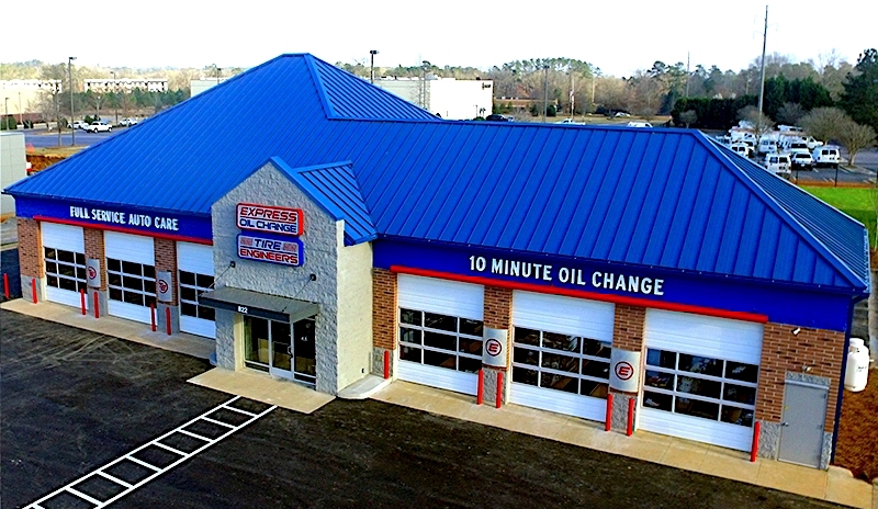 Express Oil Change & Tire Engineers Augusta, GA - Riverwatch store