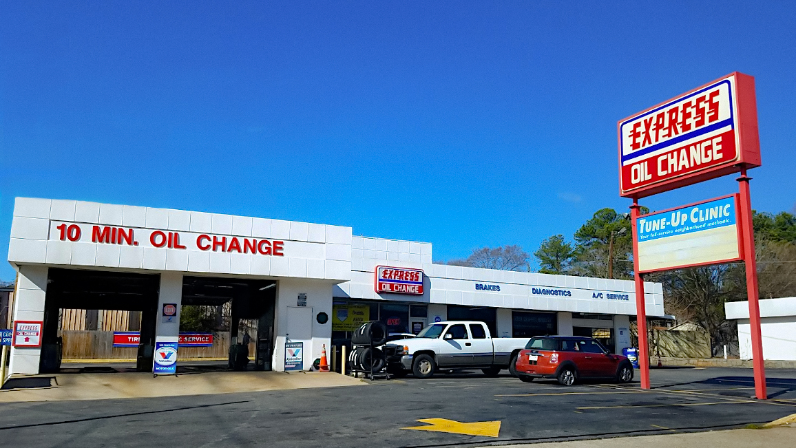 Express Oil Change & Tune Ups Atlanta, GA - Clairmont Road store