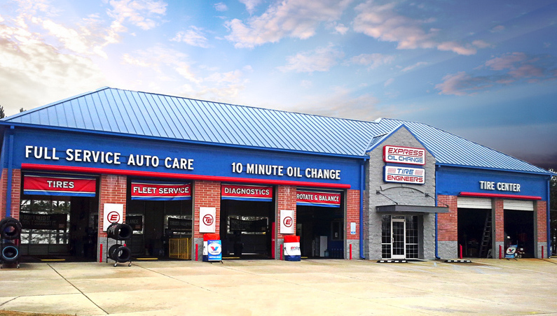 Express Oil Change & Tire Engineers Columbus, MS - Highway 45 store