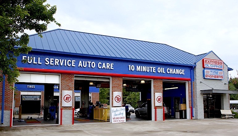 Express Oil Change & Tire Engineers Huntsville, AL - South Memorial Parkway store
