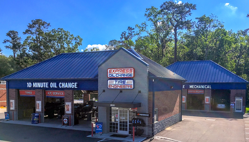 Express Oil Change & Tire Engineers Jacksonville, FL - San Jose Boulevard store