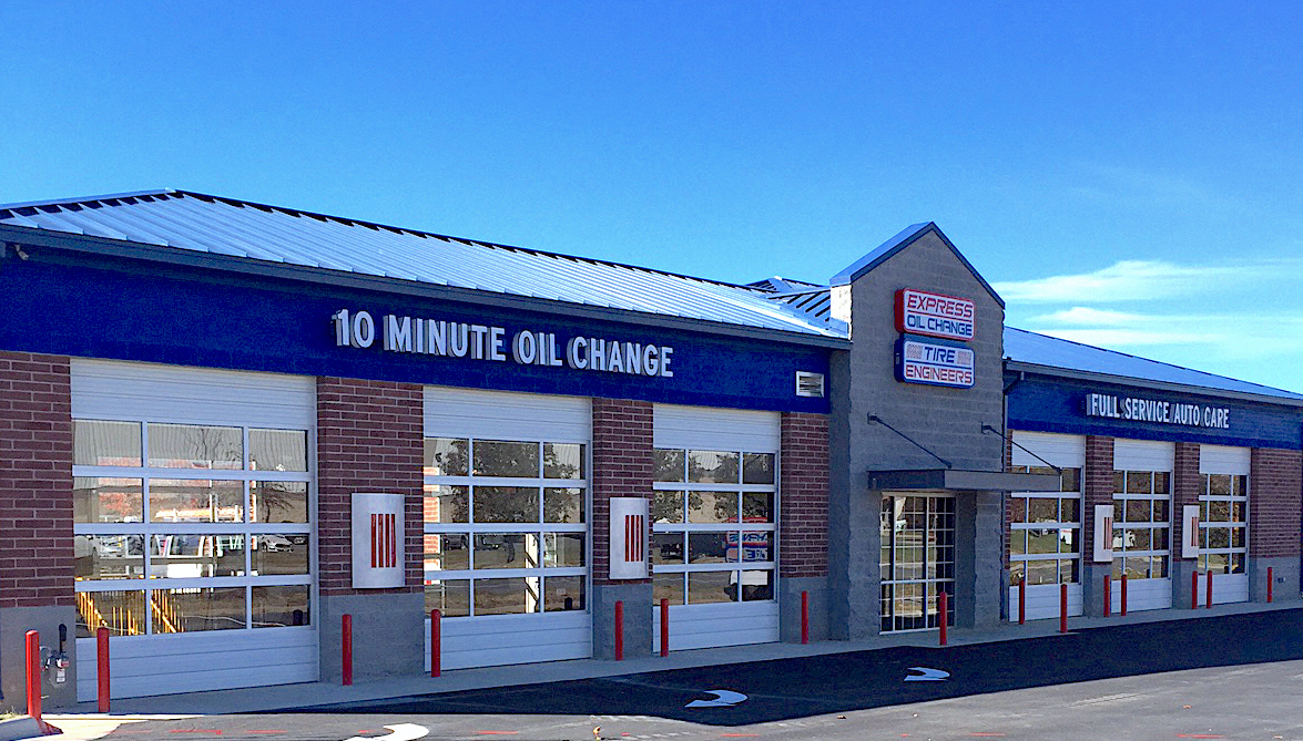 Express Oil Change & Tire Engineers Mechanicsville, VA - Bell Creek Road store