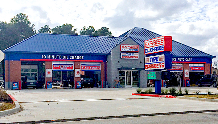 Express Oil Change & Tire Engineers Spring, TX - Klein Crossing store