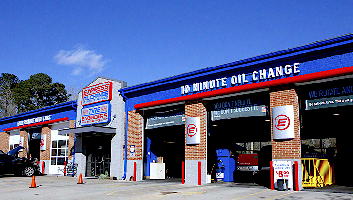 Express Oil Change & Tire Engineers Trussville, AL - Main Street store