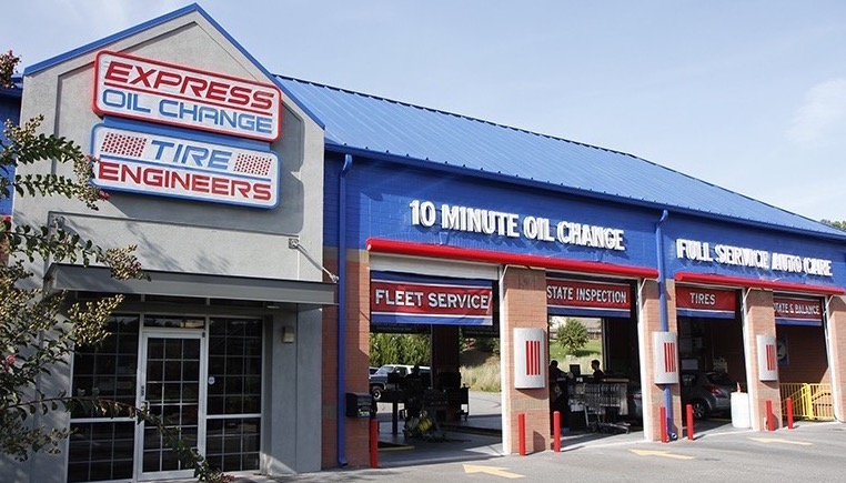 Express Oil Change & Tire Engineers at Woodstock, GA - Ragsdale store