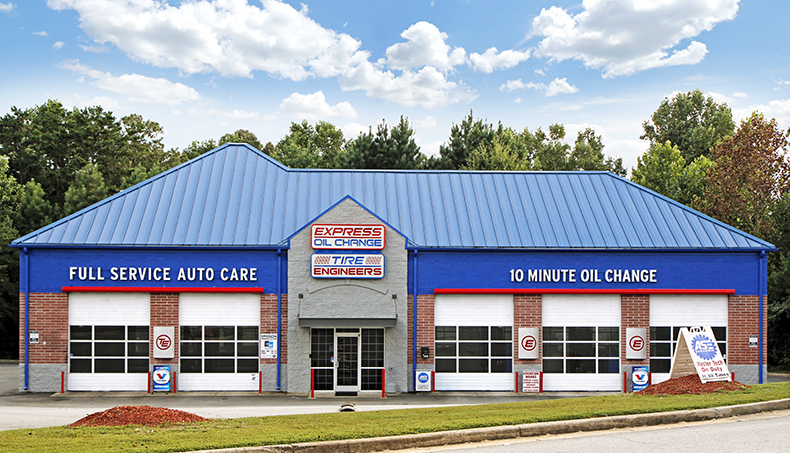 Express Oil Change & Tire Engineers Woodstock, GA - Towne Lake store