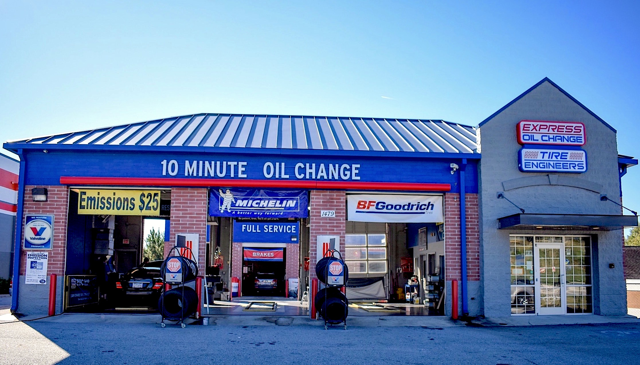Express Oil Change & Tire Engineers Stockbridge, GA - Hudson Bridge Road store