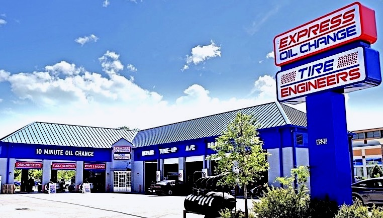 Express Oil Change & Tire Engineers at Tampa, FL - Dale Mabry Highway store