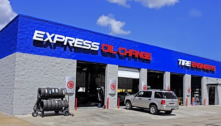 Express Oil Change & Tire Engineers Rainbow City, AL store