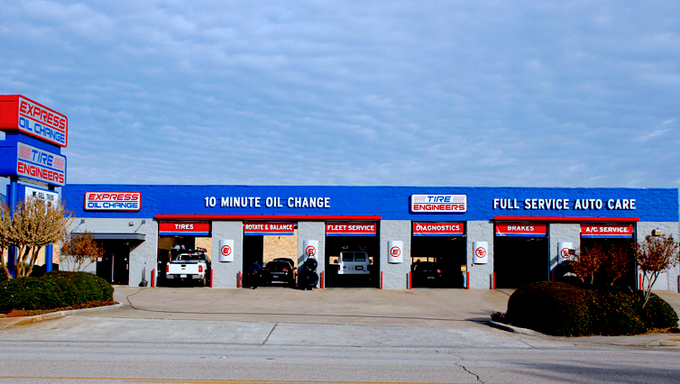Express Oil Change & Tire Engineers Huntsville, AL - Sanderson Road store