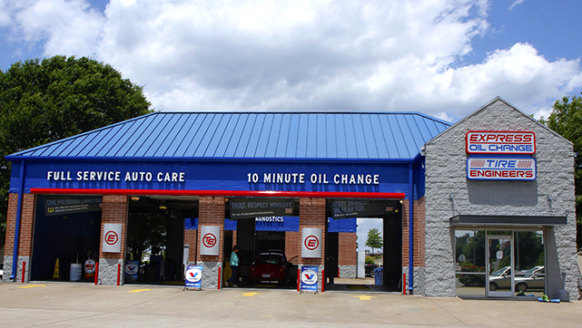 Express Oil Change & Tire Engineers Florence, AL - Florence Boulevard store