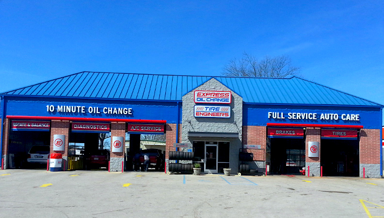Express Oil Change & Tire Engineers Decatur, AL - 6th Avenue store