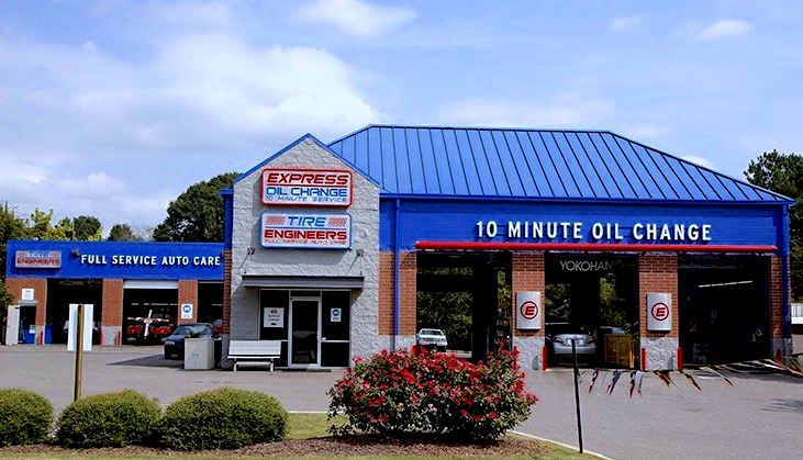 Express Oil Change & Tire Engineers at Pinson, AL store