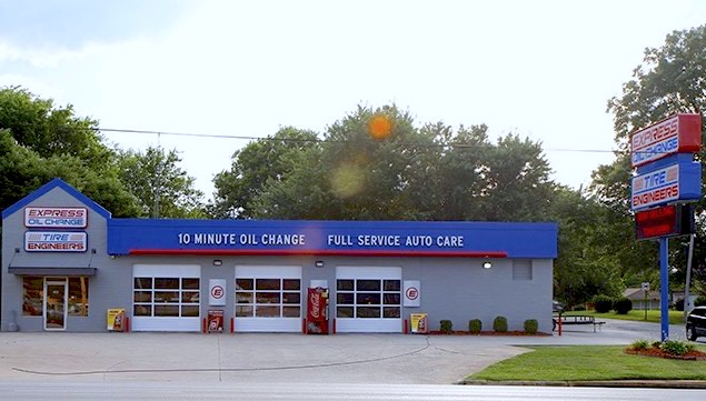 Express Oil Change & Tire Engineers Muscle Shoals, AL store