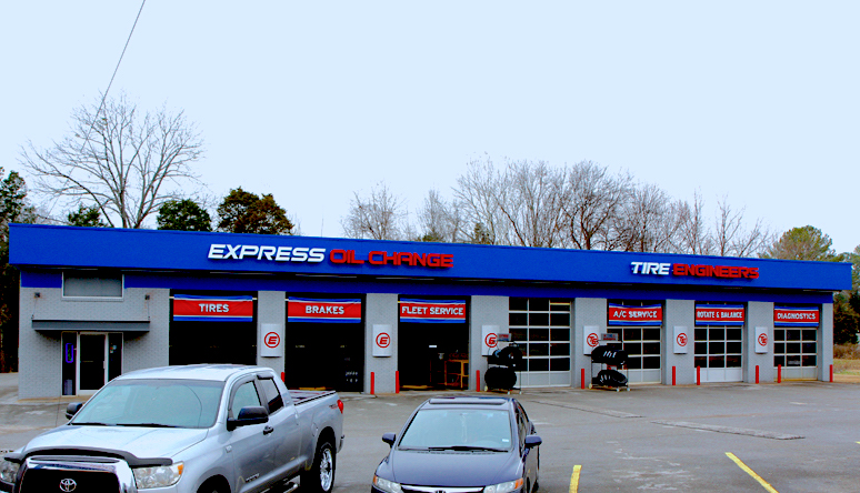 Express Oil Change & Tire Engineers Madison, AL - Sullivan Street store