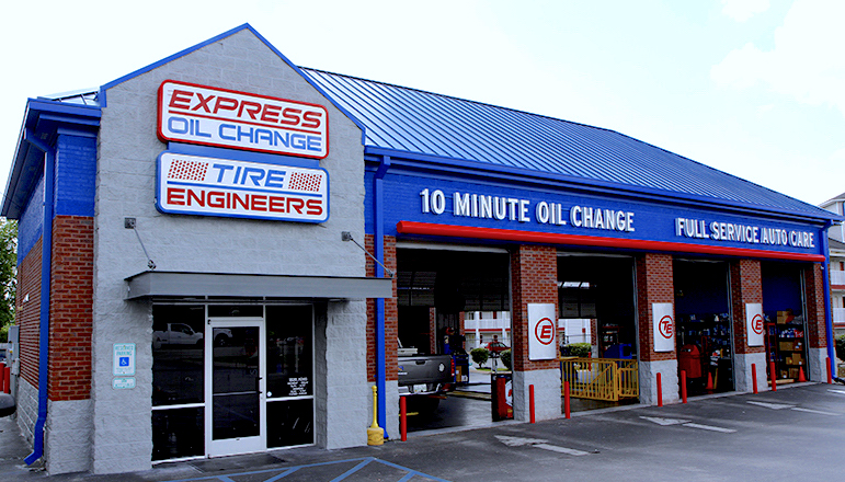 Express Oil Change & Tire Engineers Chattanooga, TN - Gunbarrel Road store