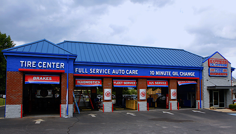 Express Oil Change & Tire Engineers Chattanooga, TN - Northgate Mall store