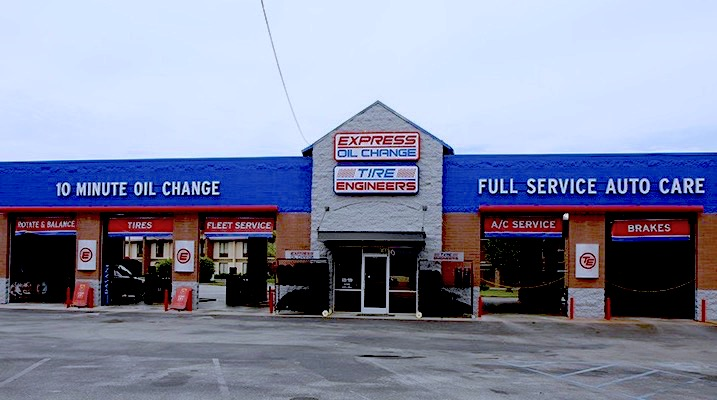 Express Oil Change & Tire Engineers Chattanooga, TN - Eastgate store