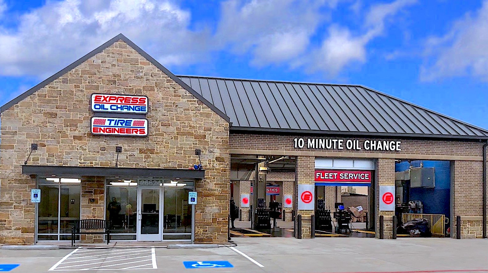 Express Oil Change & Tire Engineers Richmond, TX - Cross Creek store