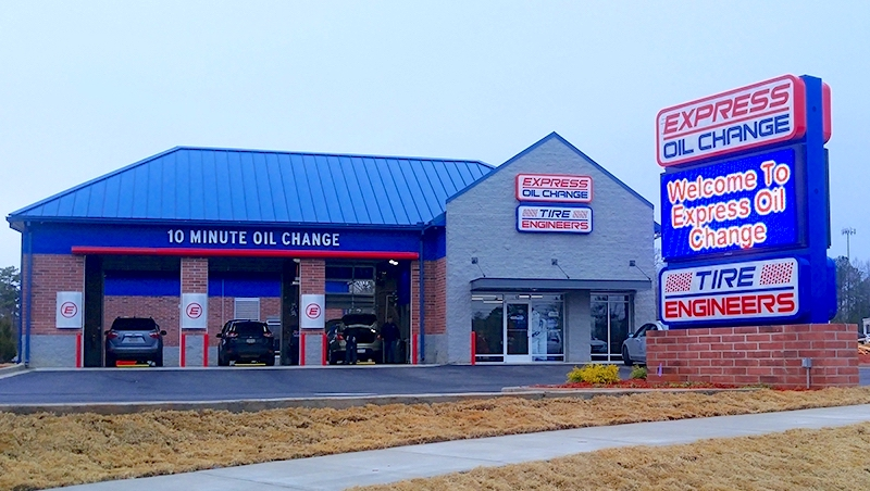Express Oil Change & Tire Engineers Carrollton, GA - Ford Way store