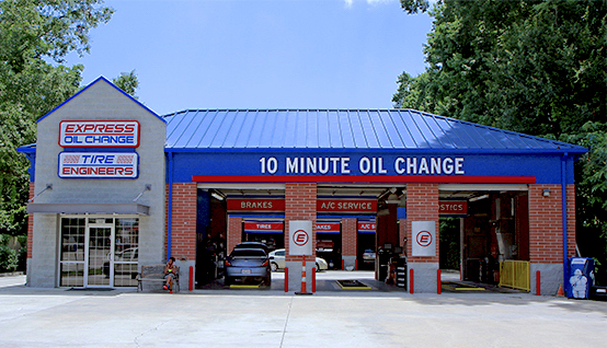 Express Oil Change & Tire Engineers Baton Rouge, LA - Perkins Road store
