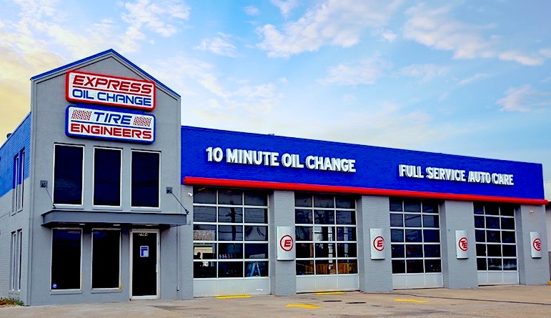 Express Oil Change & Tire Engineers at Lafayette, LA - South College store