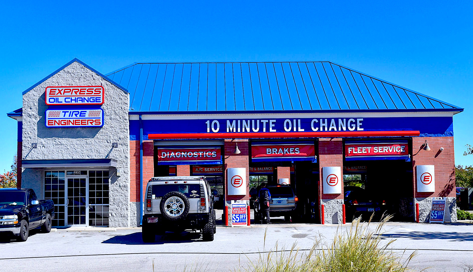 Express Oil Change & Tire Engineers Columbia, SC - Sandhills store