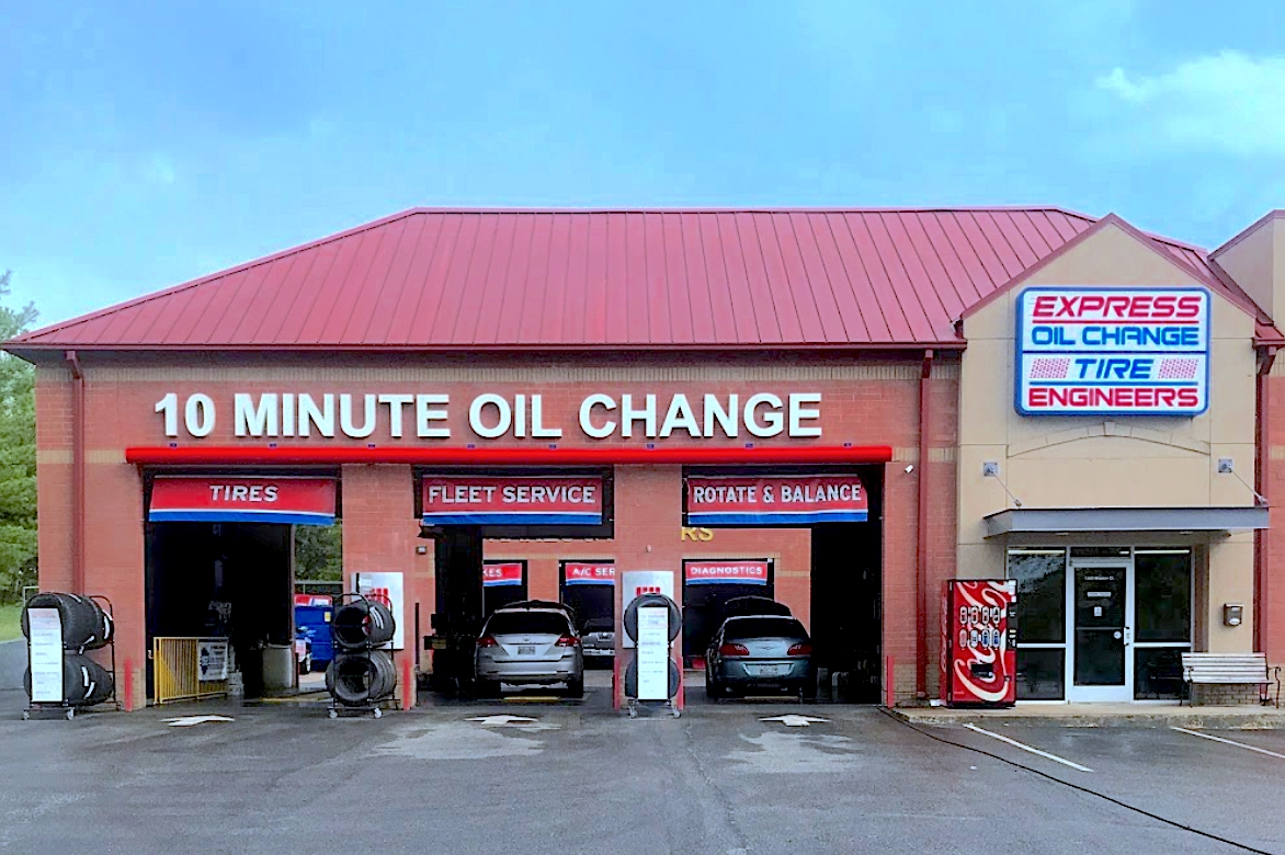 Express Oil Change & Tire Engineers Franklin, TN - Cool Springs store