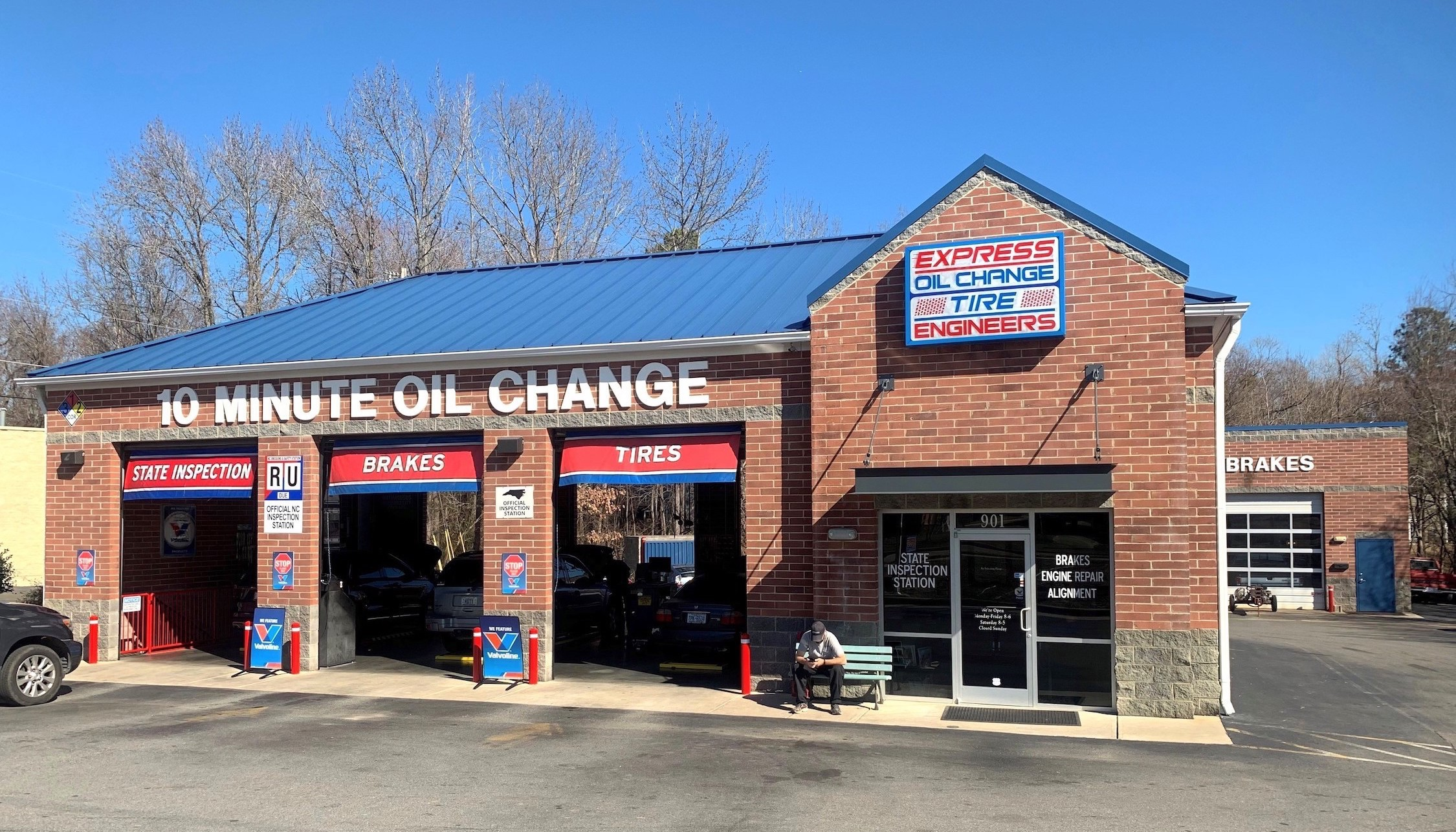 Express Oil Change & Tire Engineers at Apex, NC store