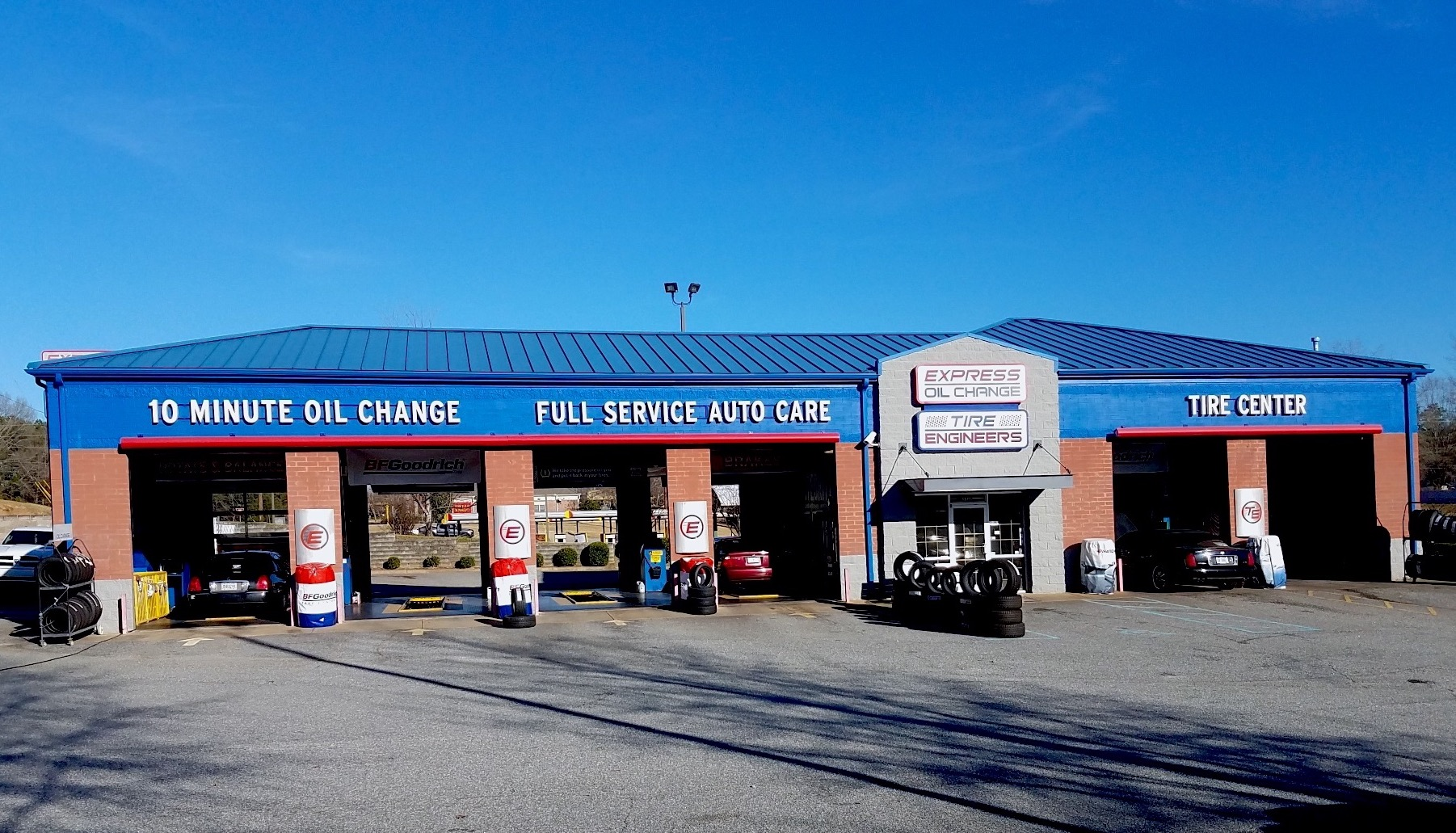 Express Oil Change & Tire Engineers at Columbus, GA - Milgen Road store
