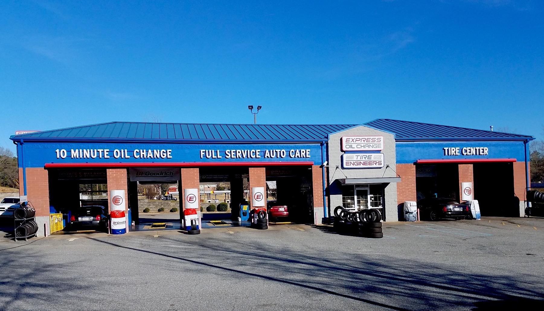 Express Oil Change & Tire Engineers Columbus, GA - Milgen Road store