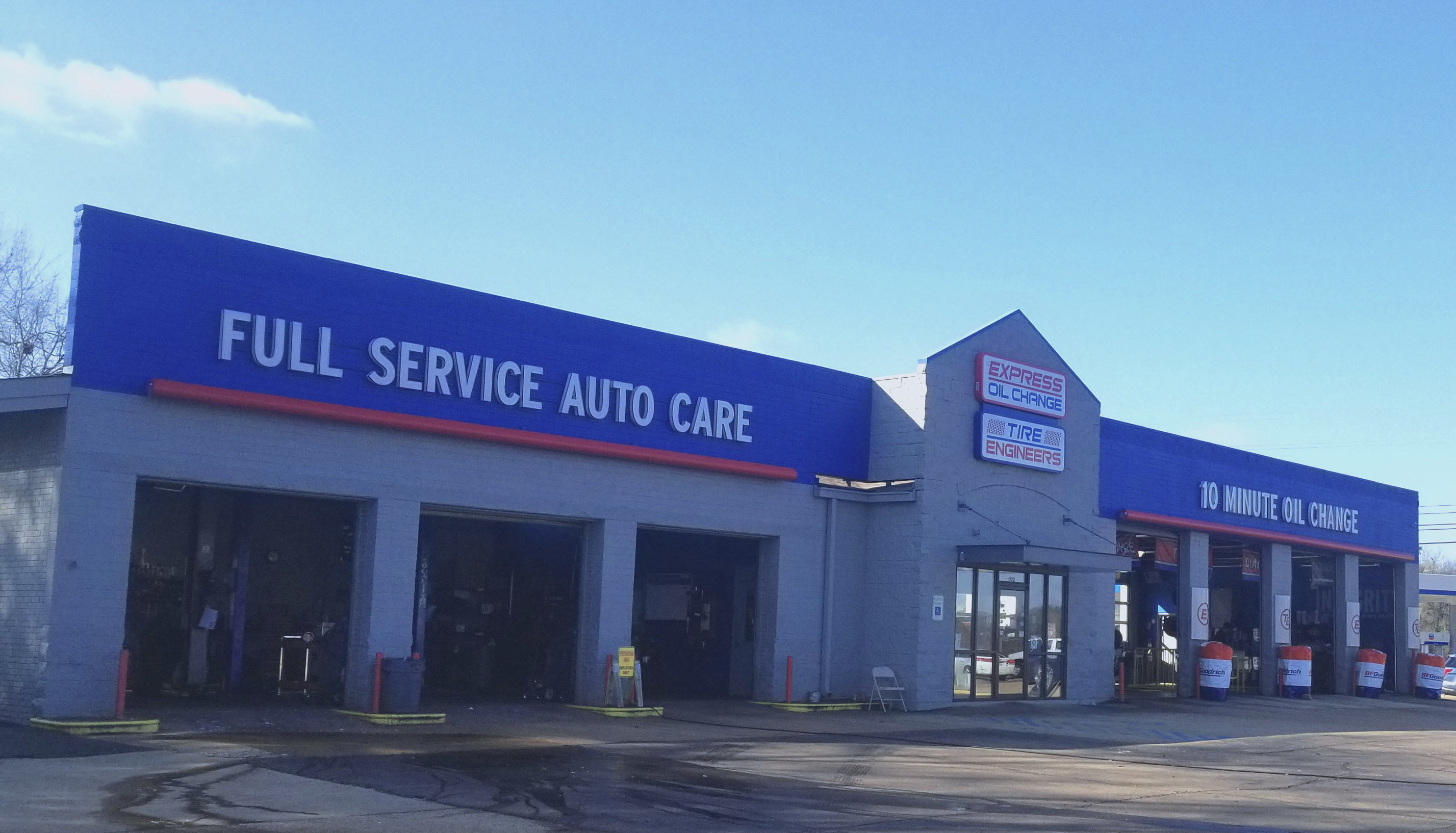 Express Oil Change & Tire Engineers at Columbus, MS - Alabama Street store