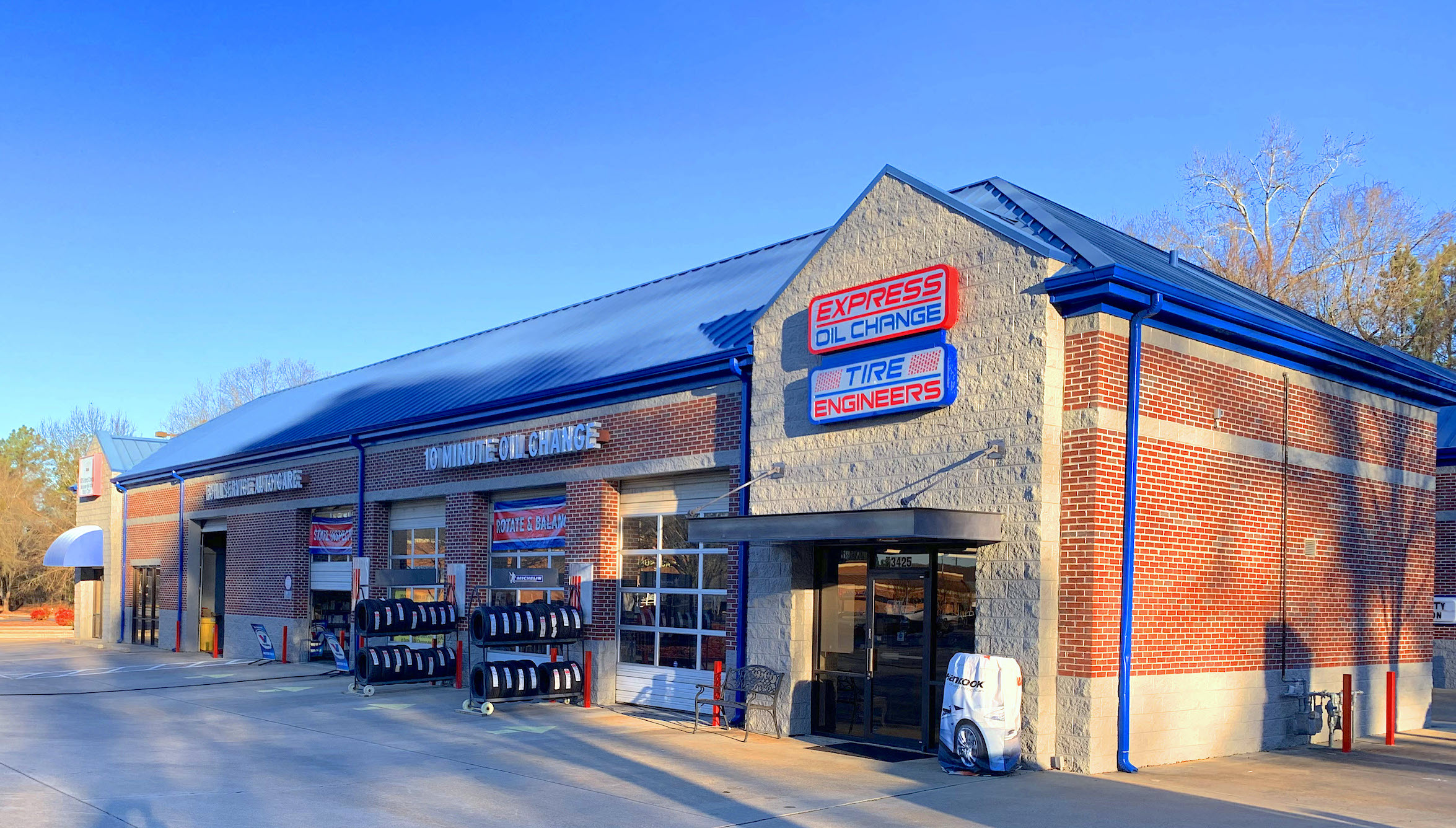 Express Oil Change & Tire Engineers at Duluth, GA - Peachtree Industrial store