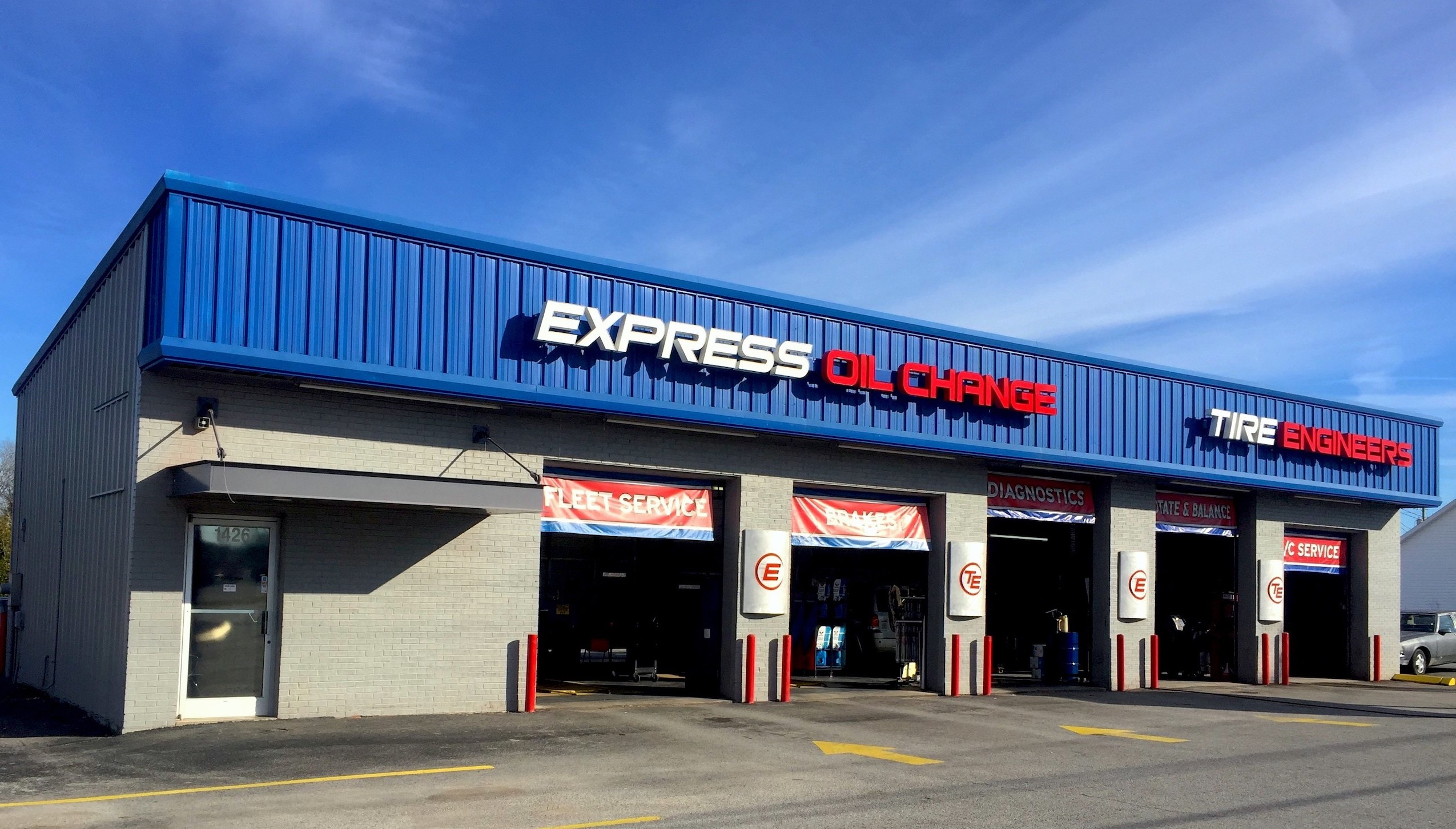 Express Oil Change & Tire Engineers Fayetteville, TN store