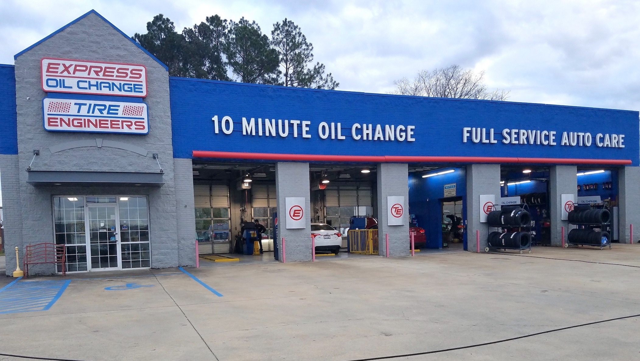 Express Oil Change & Tire Engineers Gadsden, AL store