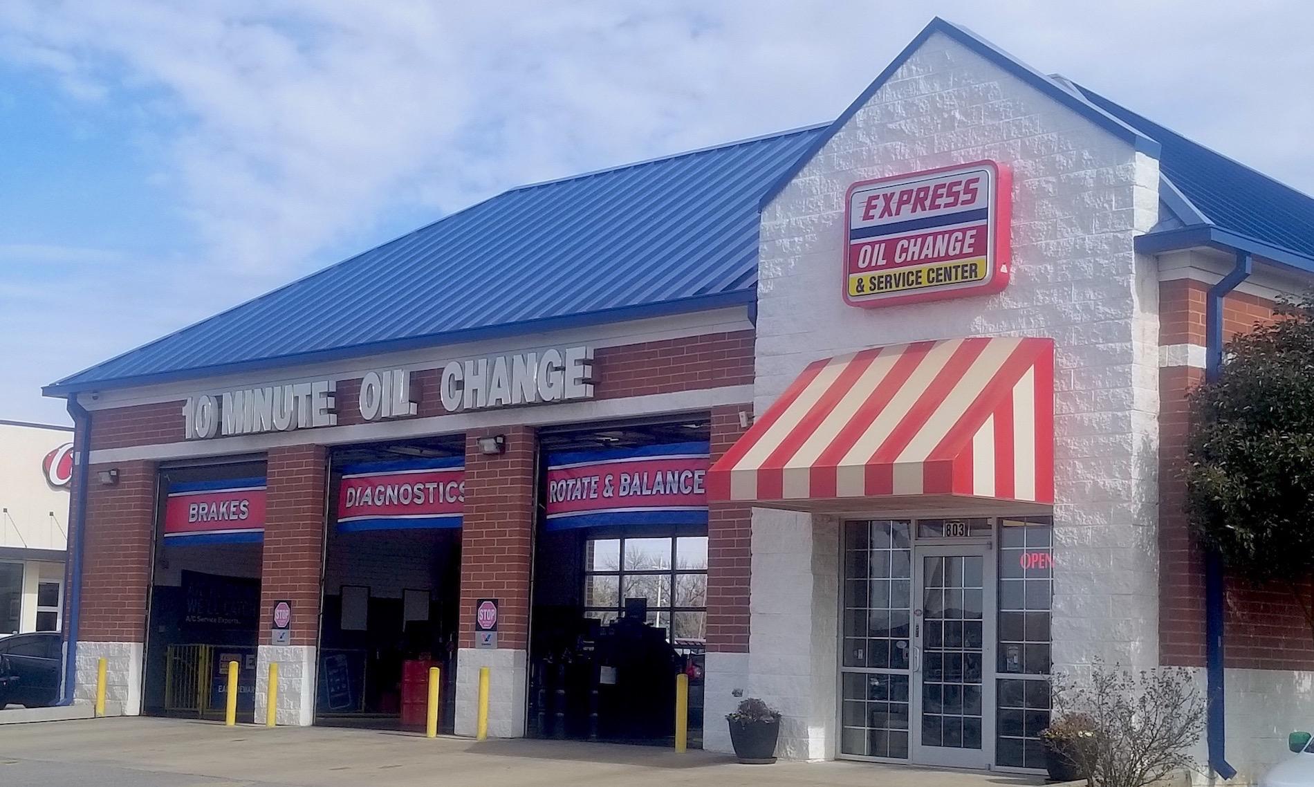 Express Oil Change & Service Center Lawton, OK store