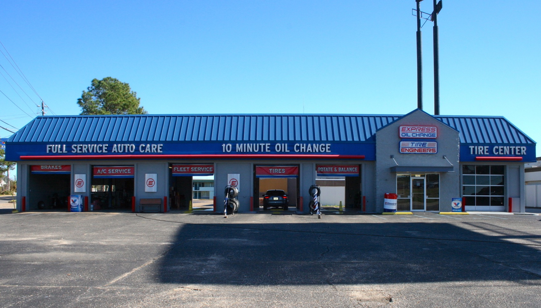 Express Oil Change & Tire Engineers Montgomery, AL - Eastern Bypass store