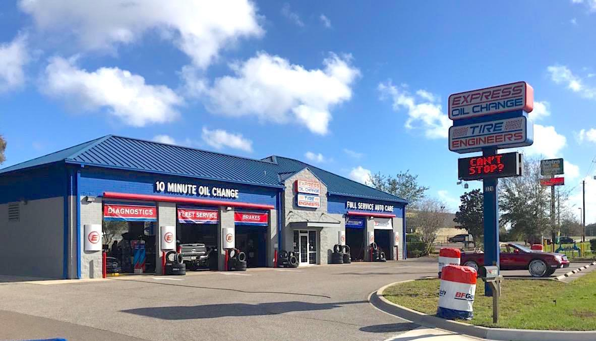 Express Oil Change & Tire Engineers at Seffner, FL store