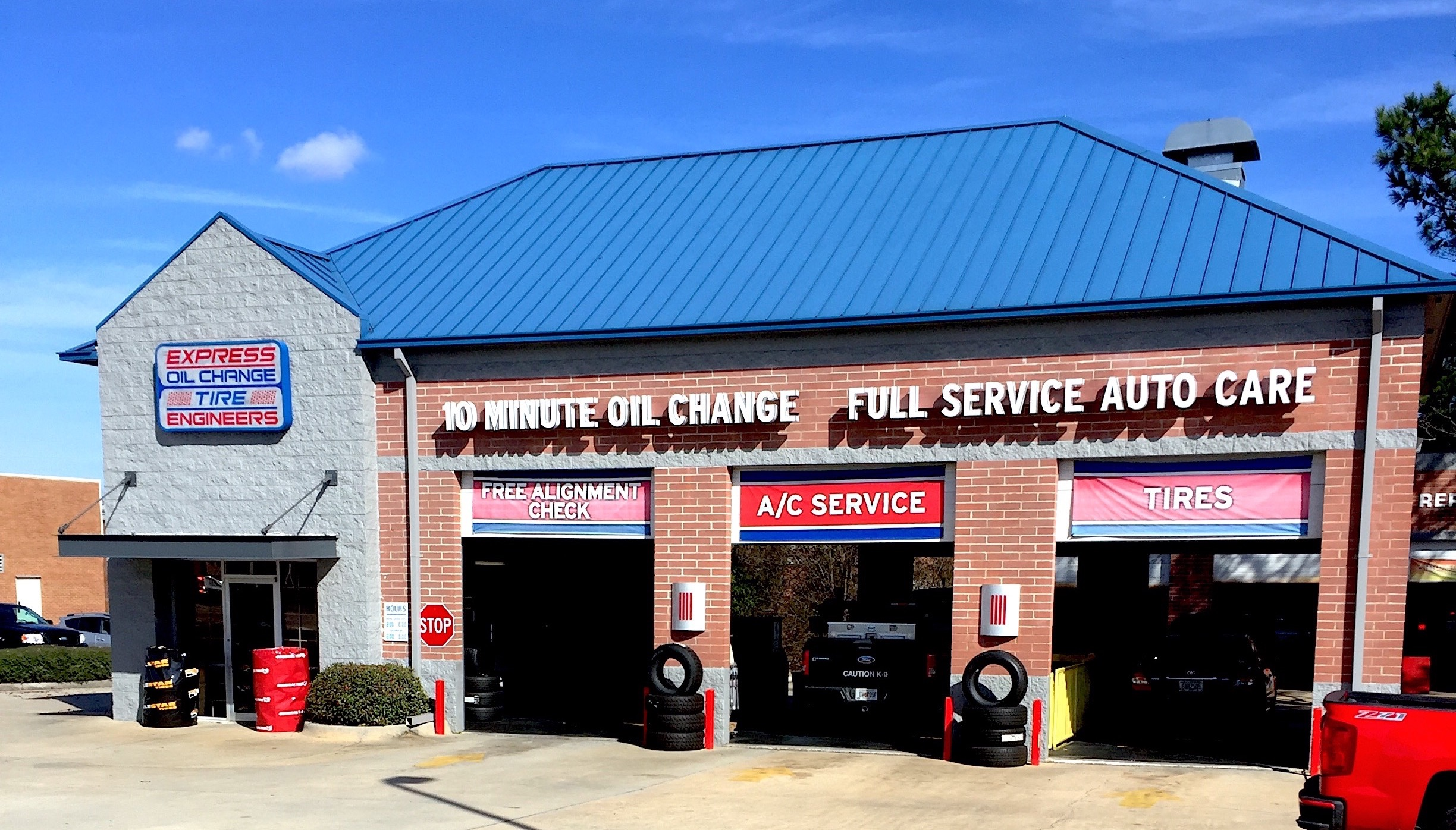 Express Oil Change & Tire Engineers Warner Robins, GA - Houston Lake Road store