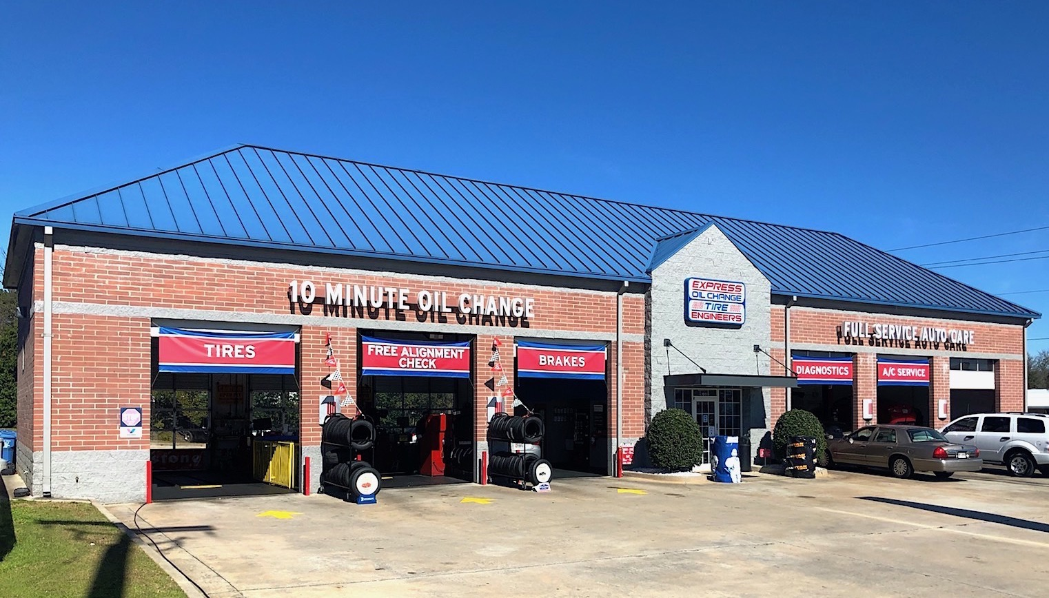 Express Oil Change & Tire Engineers at Warner Robins, GA - Russell Parkway store