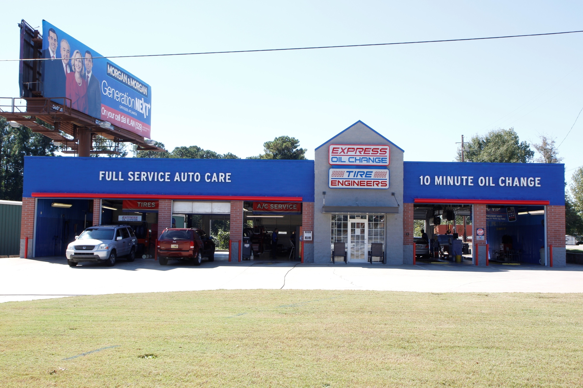 Express Oil Change & Tire Engineers Smyrna, GA - South Cobb Drive store