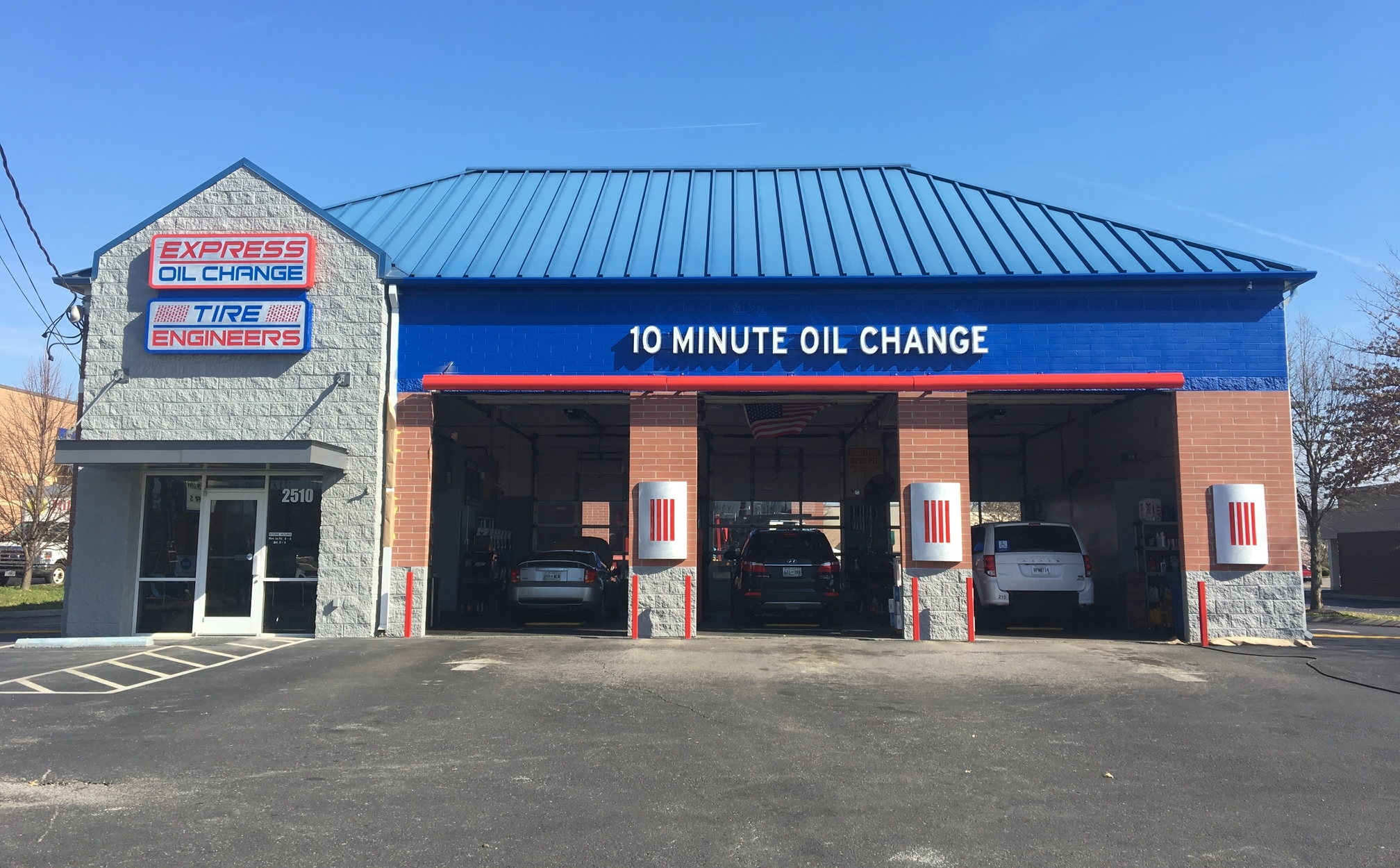 Express Oil Change & Tire Engineers Murfreesboro, TN - Old Fort Parkway store