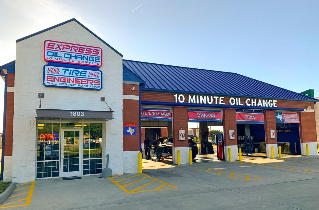 Express Oil Change & Tire Engineers Katy, TX - Mason Road store