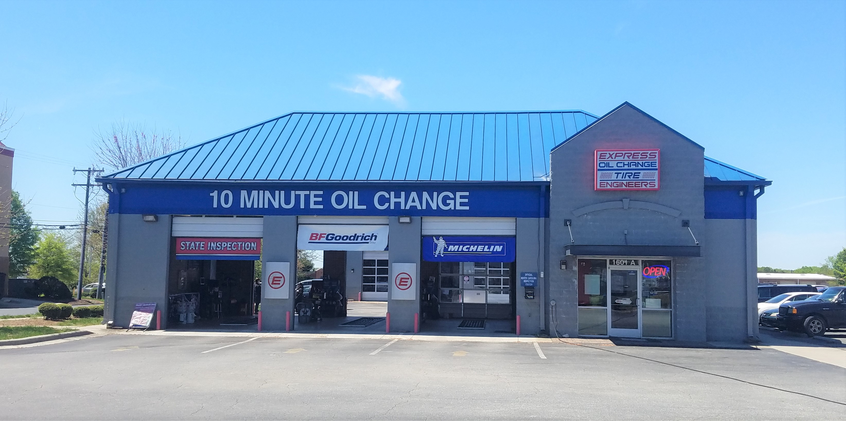 Express Oil Change & Tire Engineers Greensboro, NC - Battleground store