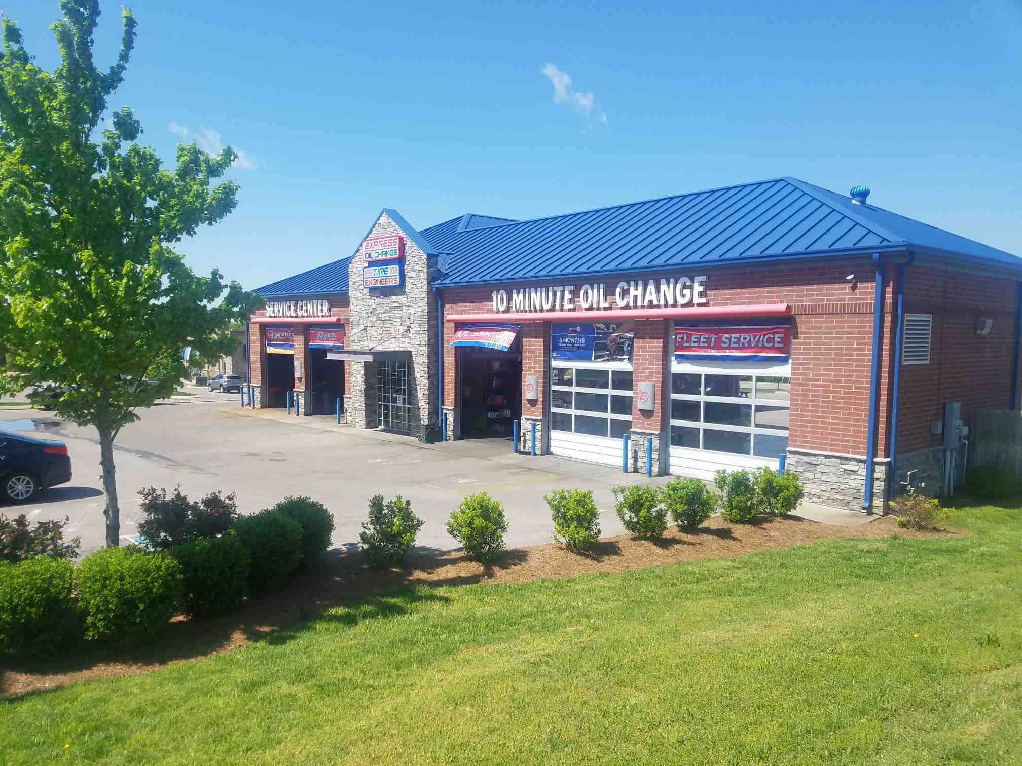 Express Oil Change & Tire Engineers at Spring Hill, TN - Belshire Village store